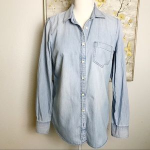 J. Crew Denim Button Down